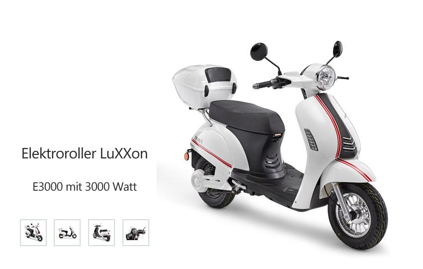 Elektroroller LuXXon E3000 mit 3000 Watt