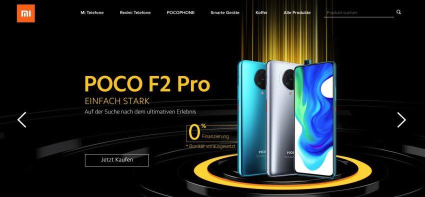Xiaomi Deutschland Poco F2 Pro