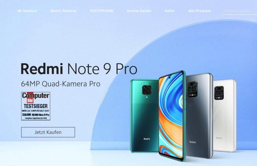 Xiaomi Deutschland Redmi Note 9 Pro