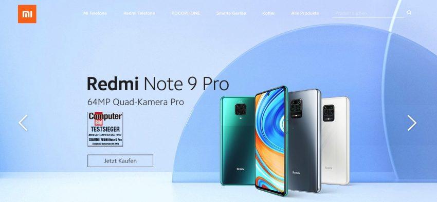 Xiaomi Redmi Note 8, 9 Pro & Xiaomi Mi Note 10 im Test