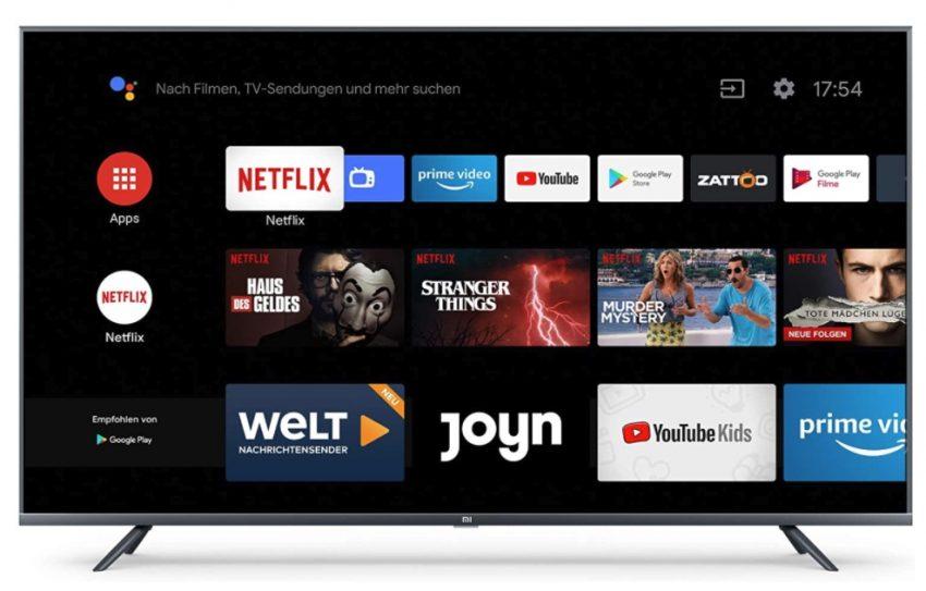 Xiaomi Mi Smart TV 4S – Ultra HD 4k TV in verschiedenen Größen im Test