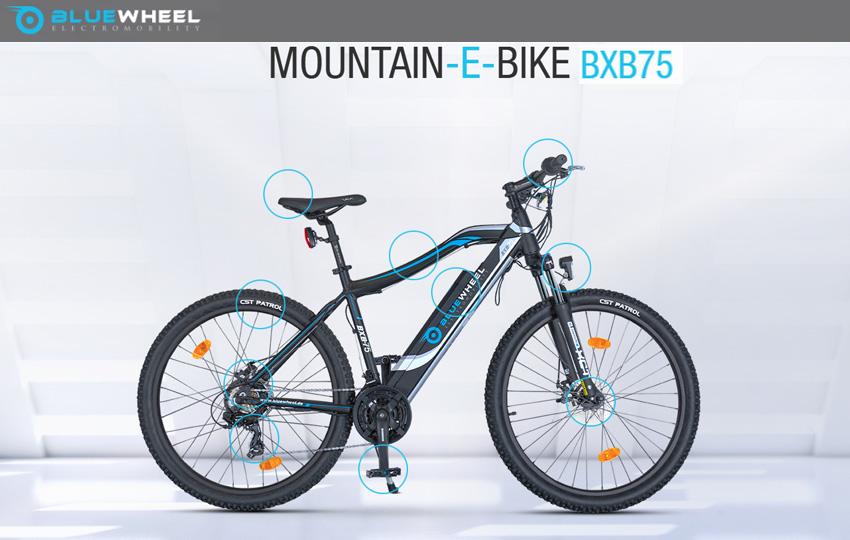 Bluewheel BXB75 e-Mountainbike deutsche Qualität
