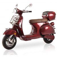 elektro-roller-classico-red