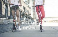 HUDORA 14005 BigWheel Air GS Scooter für Erwachsene