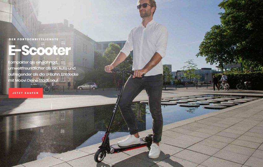 Moovi StVO e-Scooter Pro - Daten, Features, Preis
