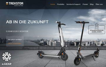 TREKSTOR e.Gear EG31 e-Scooter - Daten, Features, Preis