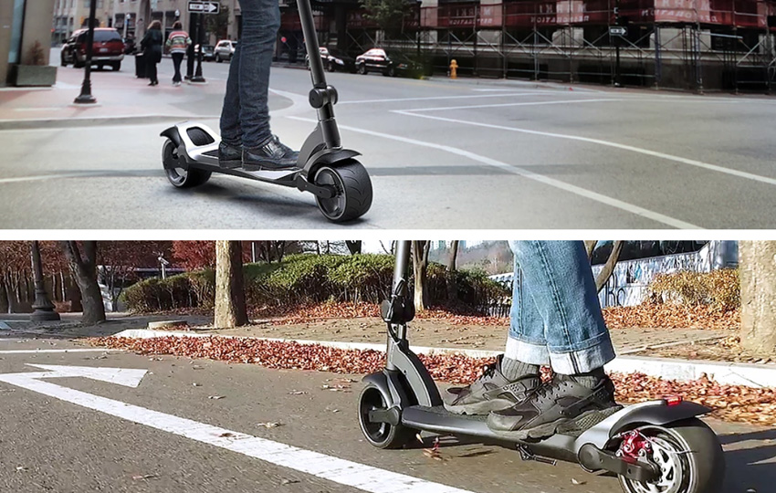 Mercane Wide Wheel PRO e-Scooter mit Straßenzulassung im Test