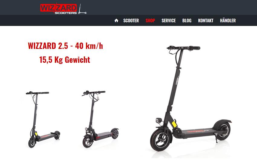 Wizzard e Scooter – EON, 2.0 & alle aktuellen Modelle im Test